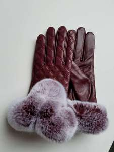 REX+LAMB LEATHER GLOVE